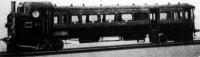 A jövő vonata, mely egyetlen kocsiból áll, s melynek első része a lokomotív, középső a személyszállító a hátsó pedig a podgyászoké