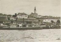 Belgrád a Száváról nézve