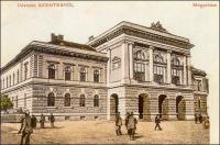 Vármegyeház a 19. század végéről (Csongrád vármegye, Szentes, 1883.)