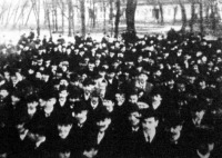 Szocialista gyűlés a készülő cselédtörvénnyel szemben