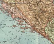 Dalmácia 1914-ben
