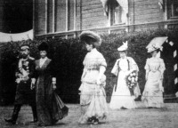 II. Miklós cár és családja