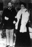 Ferdinánd bolgár fejedelem és Eleonora Reuss