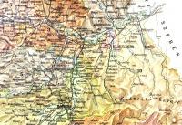 Déva és környékének térképe 1910-ből