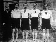 A Budapesti Torna Egylet futócsapata 1905-ben