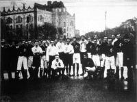 A VII. magyar-osztrák mérkőzés válogatott legénysége