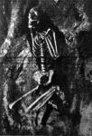 A sziklasirban talált csontváz