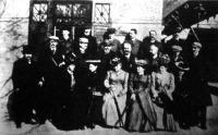 A külföldi vendégek feleségeikkel a Svábhegyre rándulnak. 1.Henry Baufort, a franczia földrajzi társaság elnöke