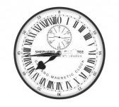 A királyi obszervatórium 24 részre osztott pontos órája