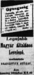 Korabeli reklám 1908