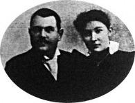 Ujváry Béla dunapentelei földbirtokos és felesége