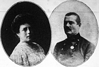 Henriette főhercegnő és Hohenlohe Gottfried királyi herceg
