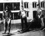 A budapesti önkéntes tüzoltók mentőfelszerelése