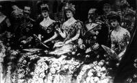 Az angol királyi pár Berlinben