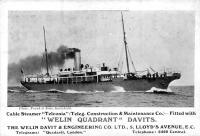 A Telconia hadihajó