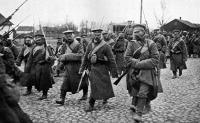 Orosz katonák 1915 elején