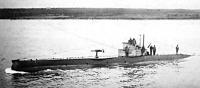 Osztrák-magyar tengeralattjáró. A Monarchiában sokan ellenezték  korlátlan búvárhajóharcot