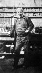 Edison, a nagy amerikai feltaláló műtermében