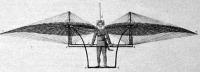 Dégen repülő gépe 1808-ban készült metszet után