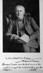Edison arczképe sajátkezü kéziratával