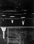 Lámpák a tenger fenekén. Képünkön a lámpák szerkezetét és a fényes pontokkal kijelölt helyes utakat láthatjuk