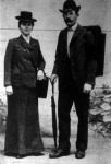 Müllner János a híres világjáró és felesége