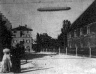 Zeppelin gróf uj szerkezettel javitott léghajója