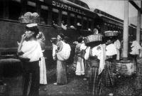 Vasuti állomás Indokínában