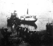 Kábelerakás az északi német tengerparton