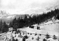 Tátra-Lomnicz télen. Izabella főherczegnő felvétele.