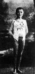 Róth Henrik az M.T.K. 11 éves úszótehetsége