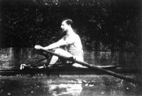 Leviczky Károly (Nemzeti Hajós Egylet), Magyarország és Ausztria 1907. évi evezős (skiff) bajnoka