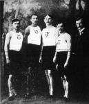 A Budapesti Torna-Club veretlen staféta-csapata