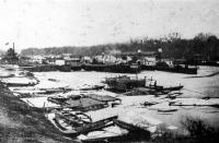 Az újpesti kikötő