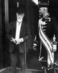 Chorin Ferenc a Parlamentnél