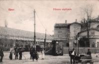 Újpest, villamos végállomás