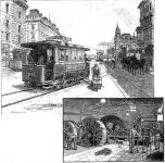 A városi villamos vasút és annak áramfejlesztő telepe