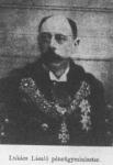 Dr. Lukács László, pénzügyminiszter