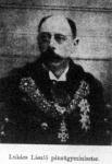 Lukács László pénzügyminiszter