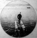A vizi veloczipéd, a melylyel a viz hátán bámulatos gyorsasággal lehet haladni