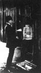 Vizszürő-gép a párisi pályaudvaron
