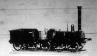 Az első német gőzmozdony 1835-ből