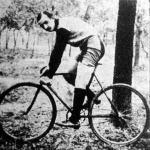 Rojkó József a a Törekvés Sport Egylet kerékpárosa