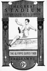A londoni olympia plakátja