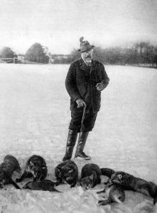 Kóburg Fülöp herceg a vadászaton