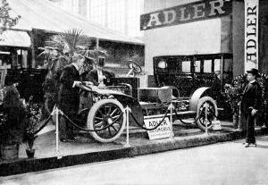 Német gyártmányok az automobil kiállításon