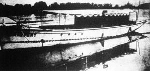 Brüll Alfréd 120 lóerős dunai motorjachtja