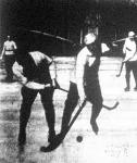 Jelenet a prágai DEG. es a Budapesti KE. jéghockey-merkőzéséről