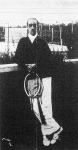 Decugis M. francia teniszjátékos, Budapest székesfőváros lawn-tennis bajnoka 1908-ban