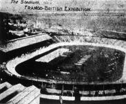 A londoni olimpiai stadion madártávlatból